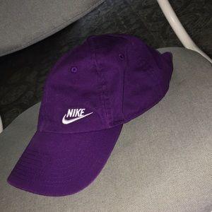 Nike purple hat